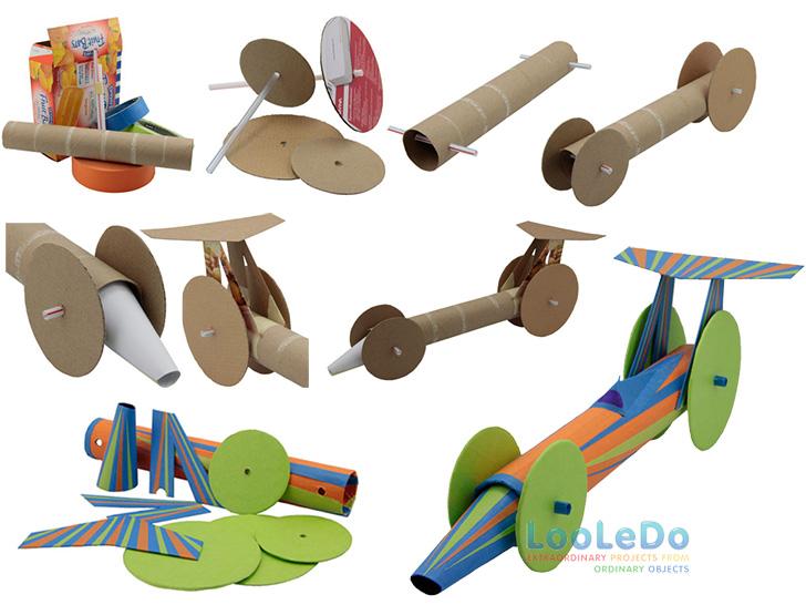 Brinquedos Hot-Wheels-reciclando