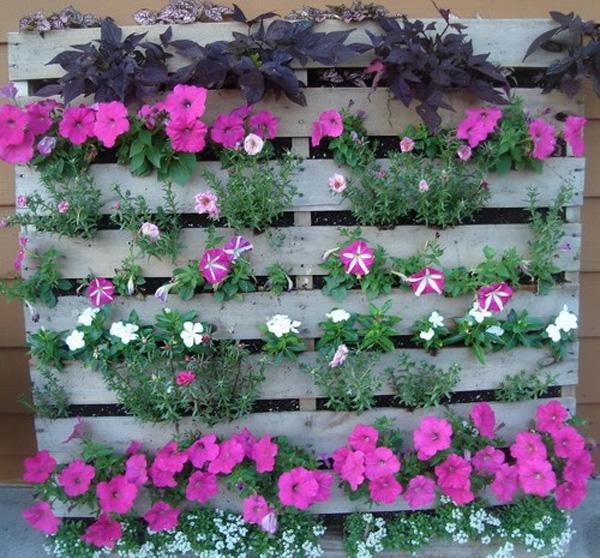 Jardim vertical florido - Sus Living