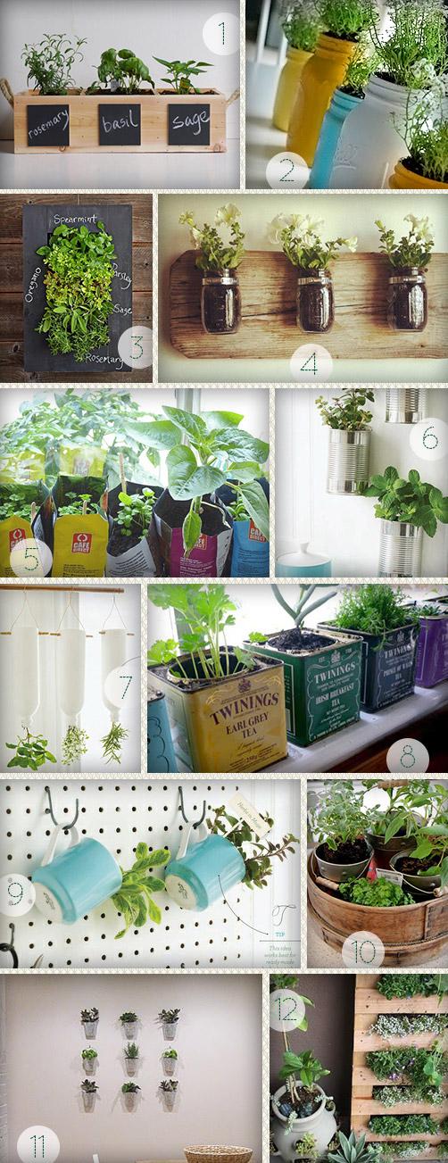 Doze sugestões para montar hortinha