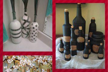 sete maneiras de reaproveitar garrafas de vinhos