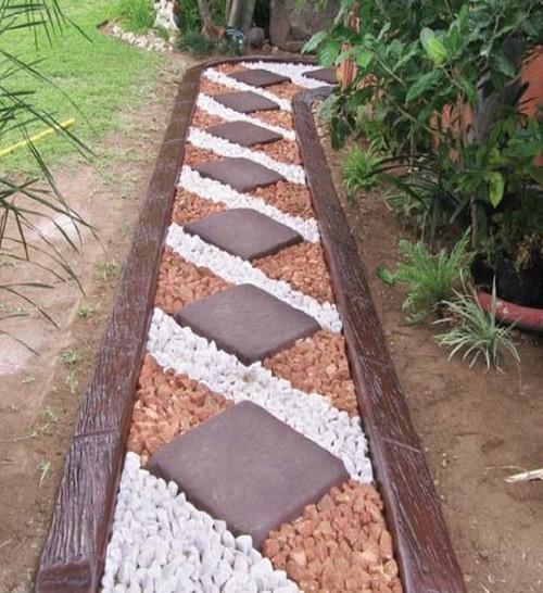 ideias caminhos jardim:caminho_jardim_losangulos_madeira_lateral