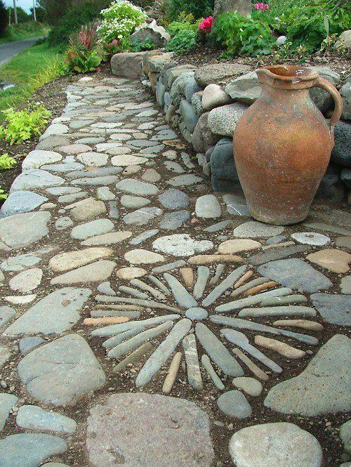 Caminhos criativos para jardins - Fa?a Voc? Mesmo