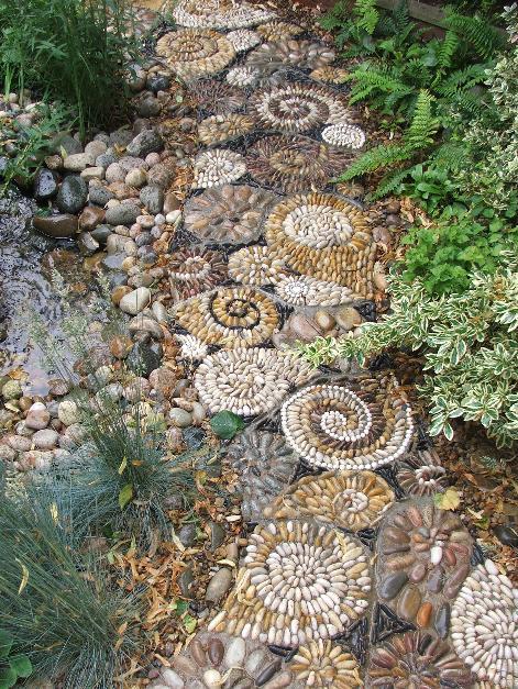 pedra jardim caminho:caminho_jardim_pedrinhas_espirais