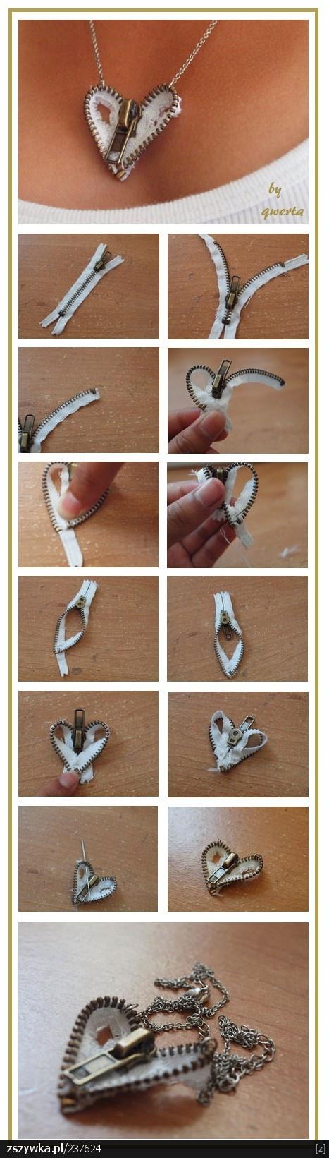 colar-ziper-usado-coracao