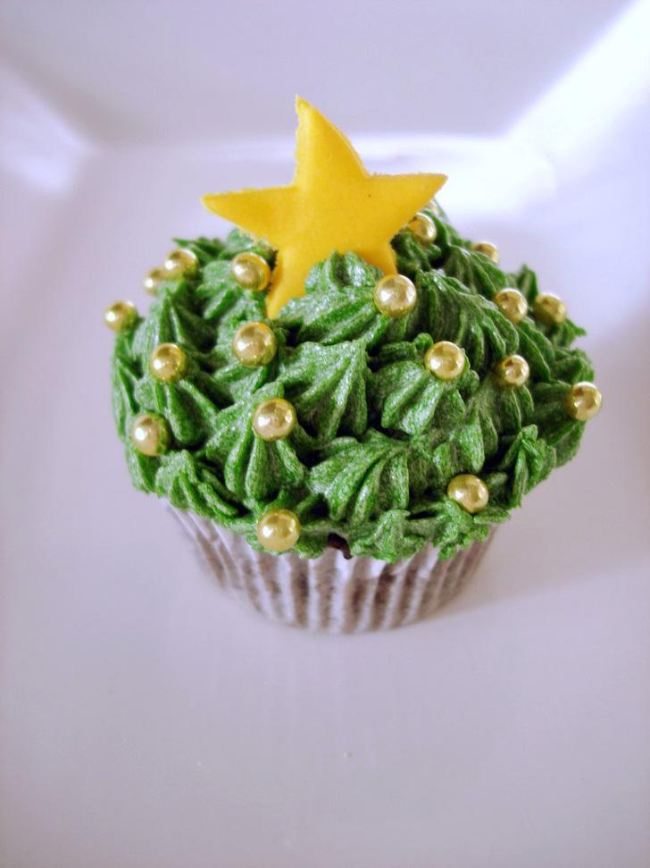 cupcake_natal_estrela_verde
