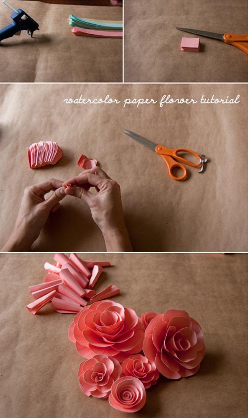 rosas_papel_canson_colorido