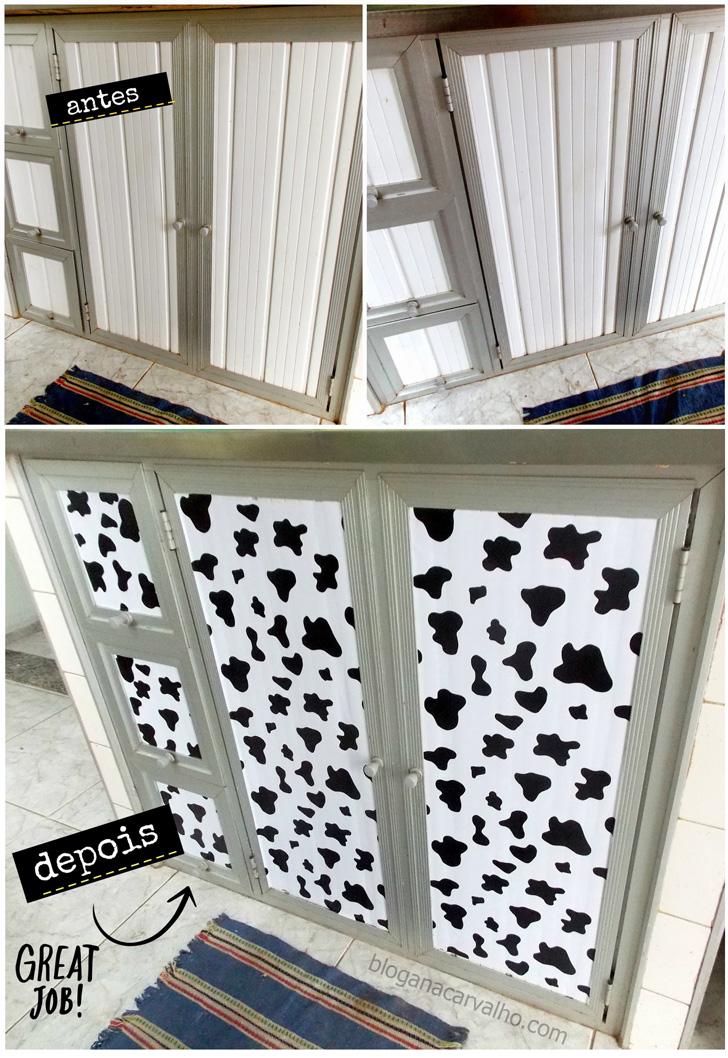 customizacao armario copzinha pvc
