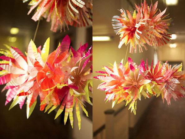 Flor de garrafa PET -