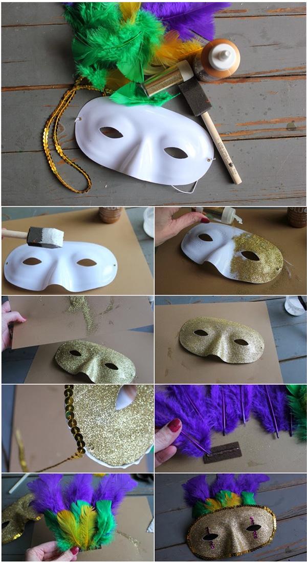 mascara de carnaval incrementada