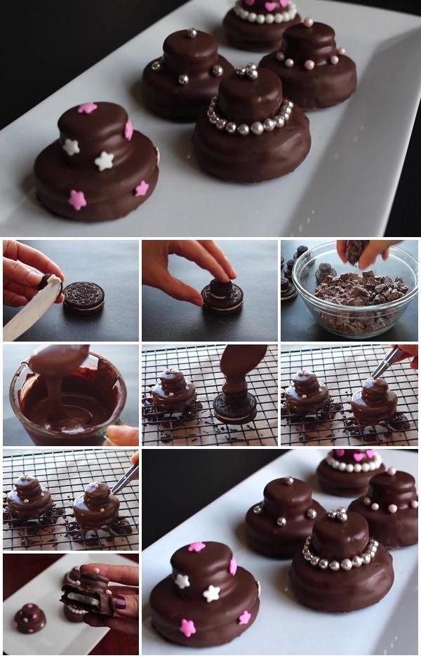 mini bolo decorado