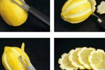 limão decorado