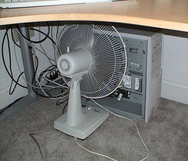 refrescar computador