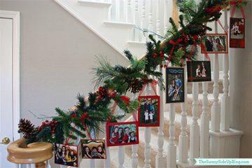 decoracao natal retratos familia
