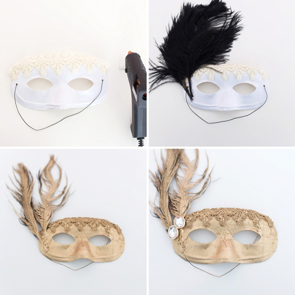 passo a passo da mascara